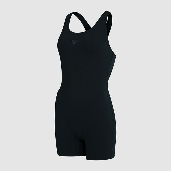 Womens Essential Endurance+ Legsuit, Black, hi-res