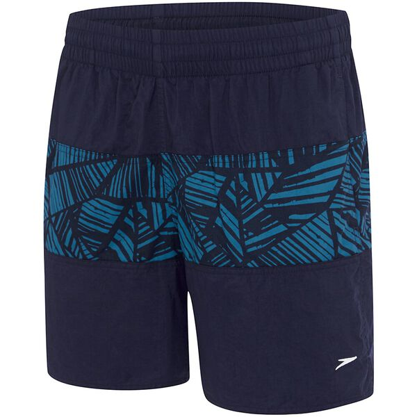 MENS CLASSIC PANEL WATERSHORT, Speedo Navy/Corozo, hi-res