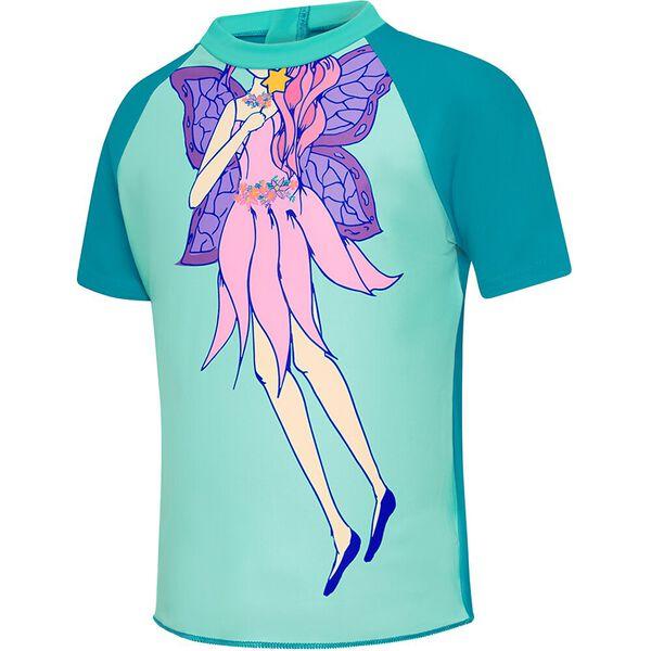 TODDLER GIRLS SHORT SLEEVE SUNTOP, Fairy Wings, hi-res