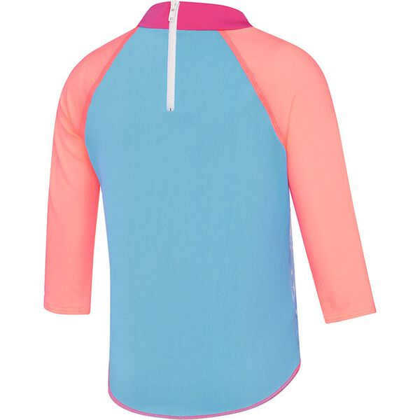 Toddler Girls Long Sleeve Suntop, Head In The Clouds, hi-res