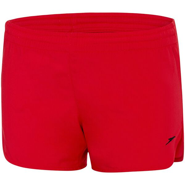 GIRLS WORK OUT SHORT, Sport Red/White, hi-res