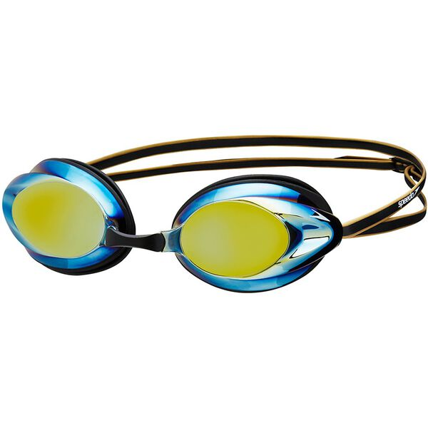 ADULT OPAL MIRROR GOGGLE, BLACK/GOLD, hi-res