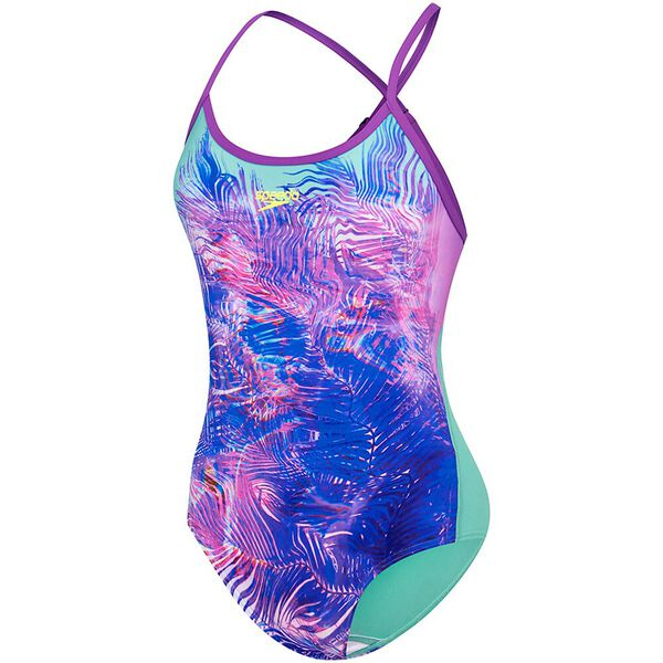 WOMENS OPEN X BACK ONE PIECE