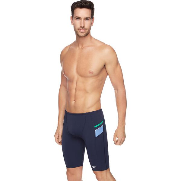 MENS MACCA JAMMER, Speedo Navy/Amazon/ Bluebell, hi-res