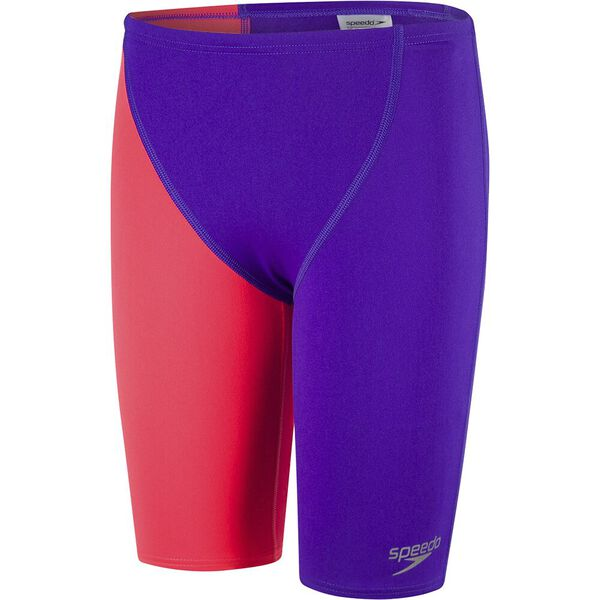 Boys End+ High Waisted Jammer, ROYAL PURP/RED, hi-res