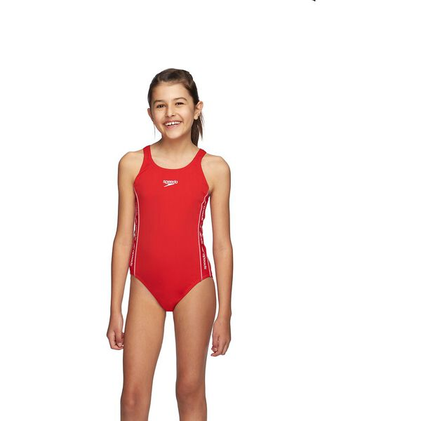 GIRLS SUPERIORITY MEDALIST  ONE PIECE, Sport Red/White, hi-res