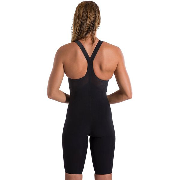 WOMENS LZR VALOR CLOSEDBACK KNEESKIN, BLACK, hi-res