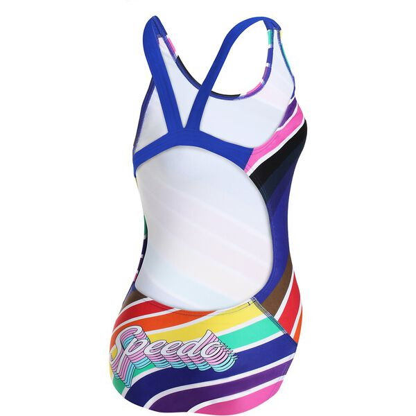 WOMENS MARDI GRAS LEADERBACK ONE PIECE, PRIDE/SPEED, hi-res