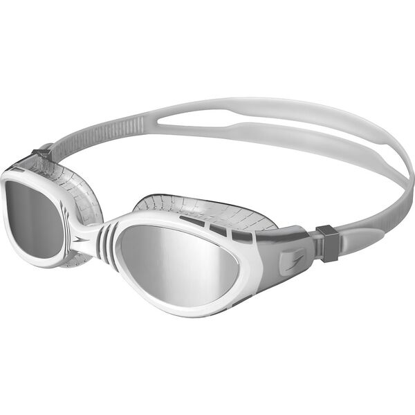 Futura Biofuse Flexiseal Mirror Goggle, Cool Grey/White/Silver, hi-res