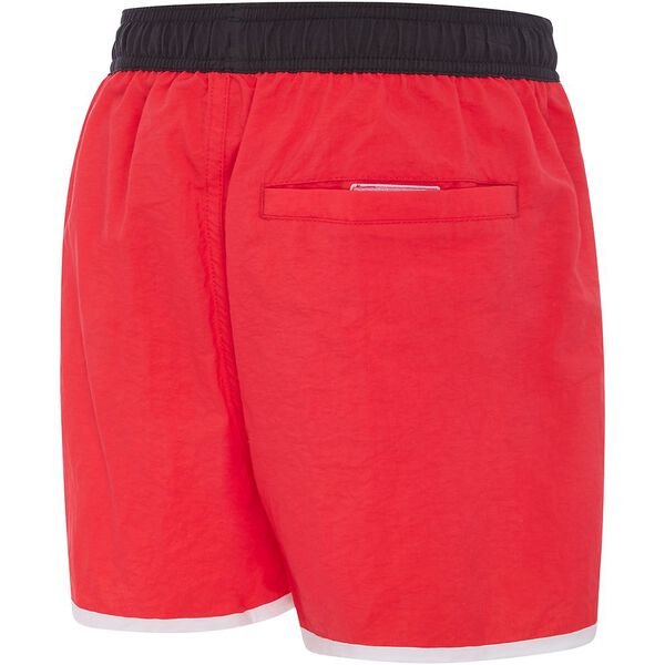 BOYS JUNIOR WAVE WATERSHORT, Scarlet/Carbon/White, hi-res