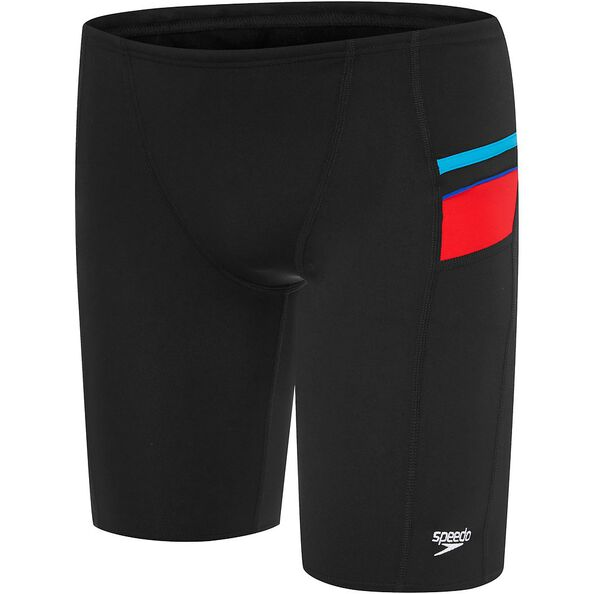 BOYS BOYS MACCA JAMMER, Black/USA Red/Pacific/Speed, hi-res