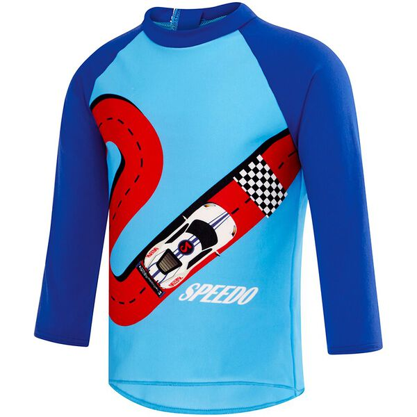 TODDLER BOYS CAR TRACK LONG SLEEVE RASHIE
