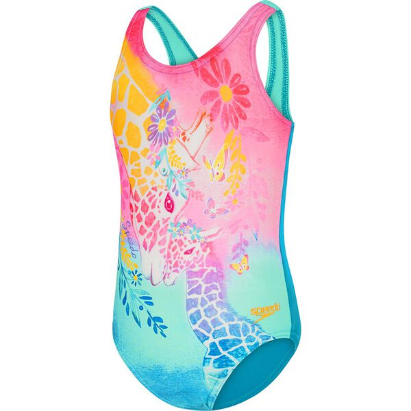 TODDLER GIRLS GIRAFFE LOVE ONE PIECE