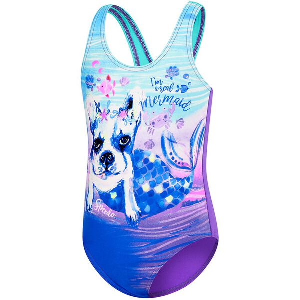 TODDLER GIRLS REAL MERMAID ONE PIECE
