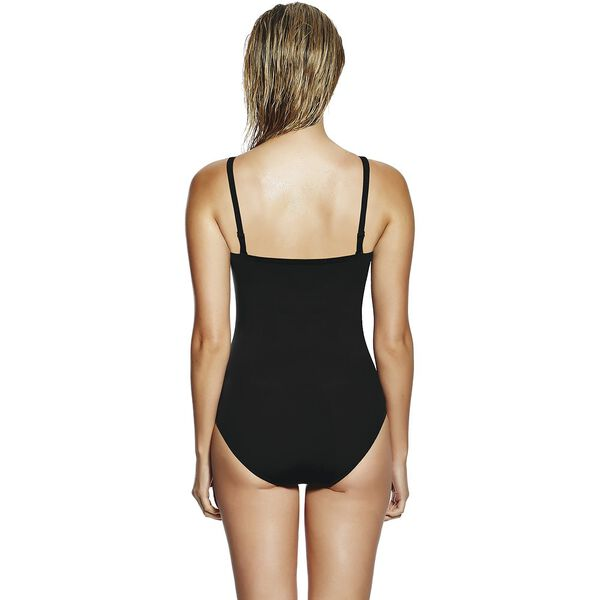 WOMENS LUX PRO SHAPER ONE PIECE, BLACK, hi-res