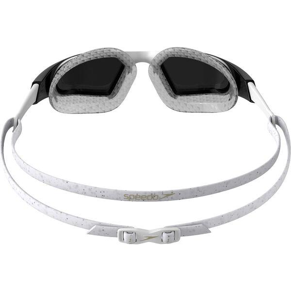 Aquapulse Pro Mirror Goggle, White/Clear/Purple, hi-res