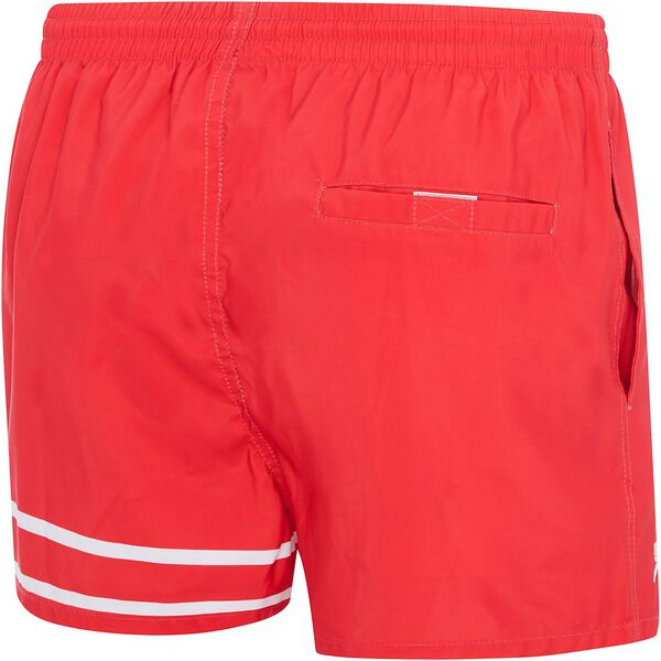 MENS 90'S LETTERMAN WATERSHORT, USA Red/White, hi-res