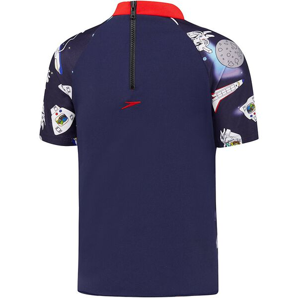 TBYS SPACE TURTLE SHORT SLEEVE SUNTOP, S TURTLE/S NVY, hi-res