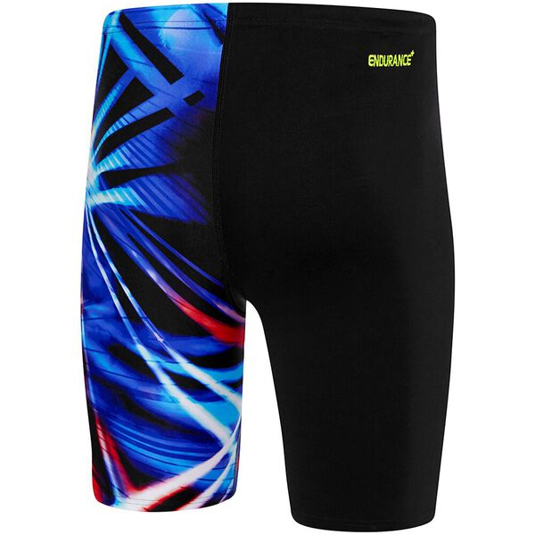 MENS HECTIC JAMMER, Black/Light Ray, hi-res