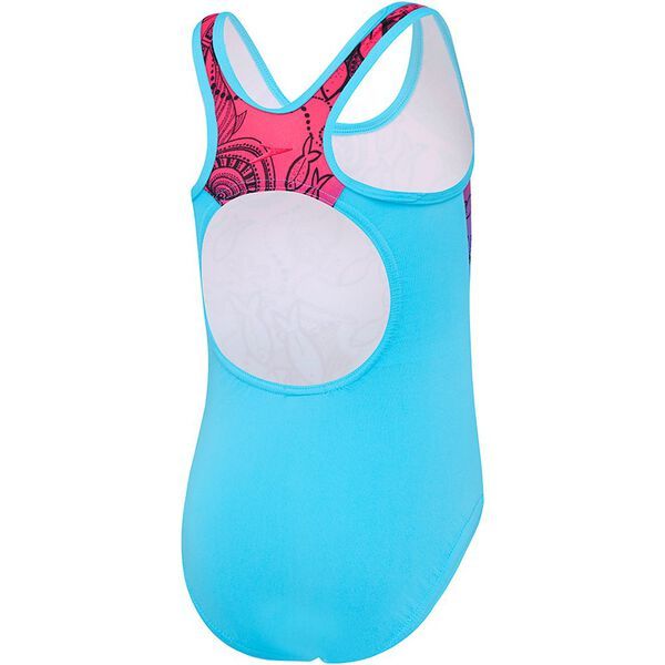 TODDLER GIRLS GALAXY CAT ONE PIECE, Mystical Fish/Turquoise, hi-res