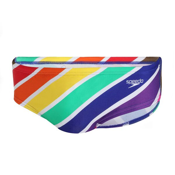 MENS MARDI GRAS 8CM BRIEF