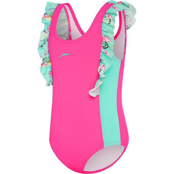 TODDLER GIRLS FRILLY ONE PIECE