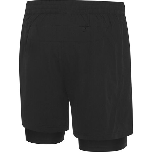 Mens XT 2-1 Short, Black/Zest, hi-res