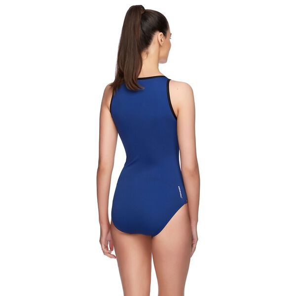 WOMENS SPIRIT TURBO SUIT ONE PIECE, OXIDE/MARINER, hi-res