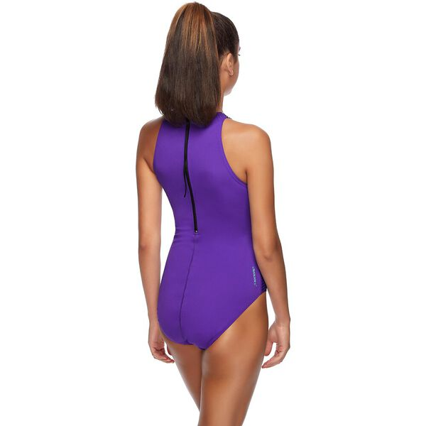 WOMENS FEATHERS TURBO SUIT ONE PIECE, FLIGHT, hi-res