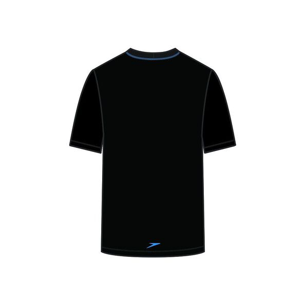 BOYS OCEAN SHORT SLEEVE TEE RASHIE, Black/New Cancun, hi-res