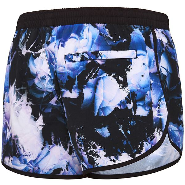 WOMENS VIRTUAL BLOOM SHORT, Virtual Bloom/Black, hi-res