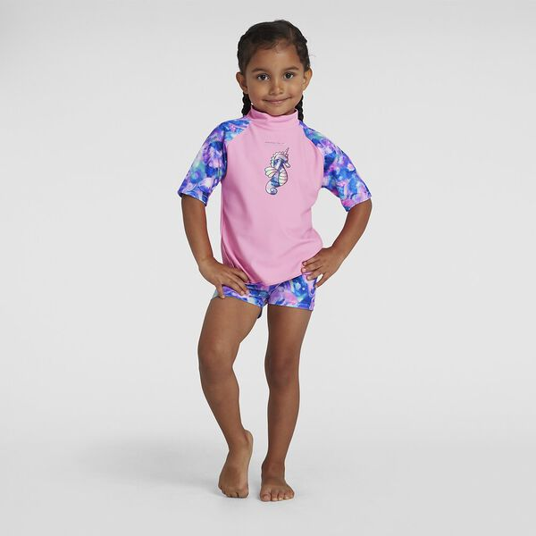 Toddler Girls Sun Protection Top And Short
