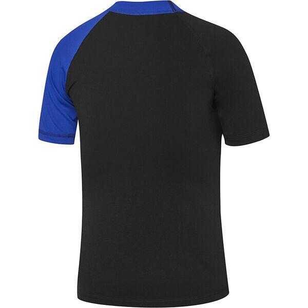 Boys Dissect Short Sleeve Sun Top, Black/Speed/Incite, hi-res