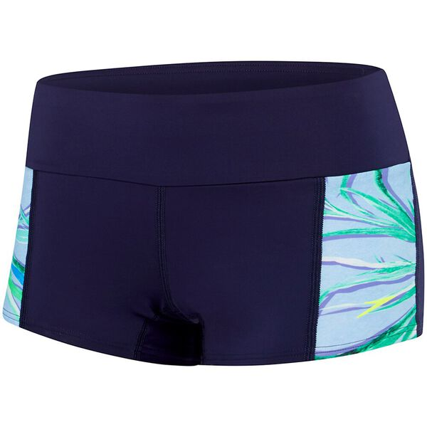 WOMENS SPEEDO ECO FABRIC AGILE BOYLEG, AGILE, hi-res