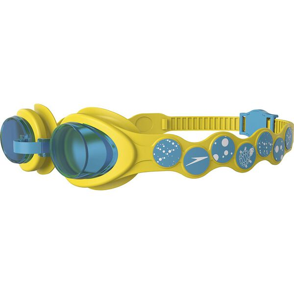 Infant Spot Goggle, Yellow/White/Turquoise, hi-res