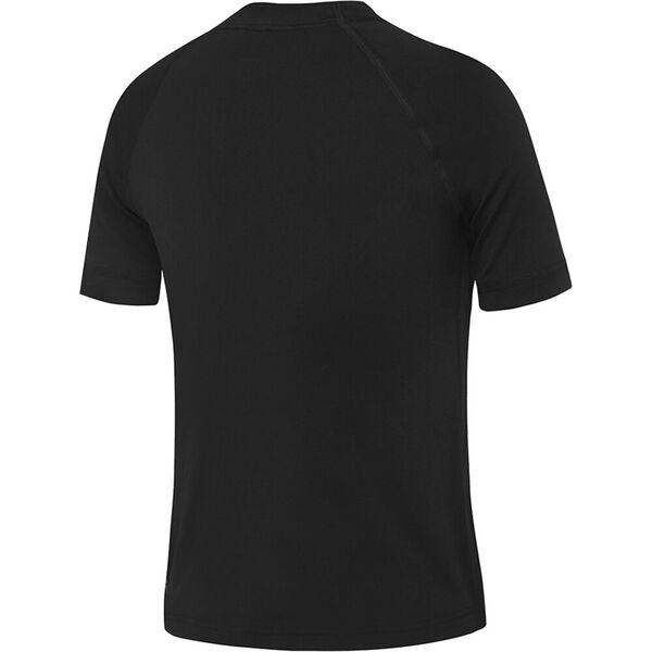 Boys Boys Logo Short Sleeve Sun Top, Black, hi-res