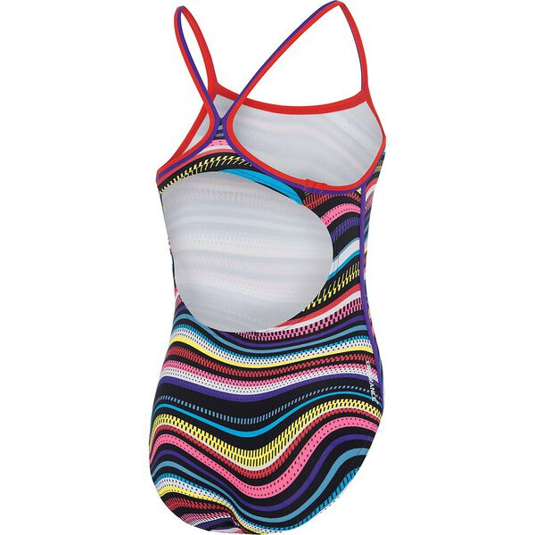 GIRLS MULTI LINES SIERRA ONE PIECE, Retro Vibe, hi-res