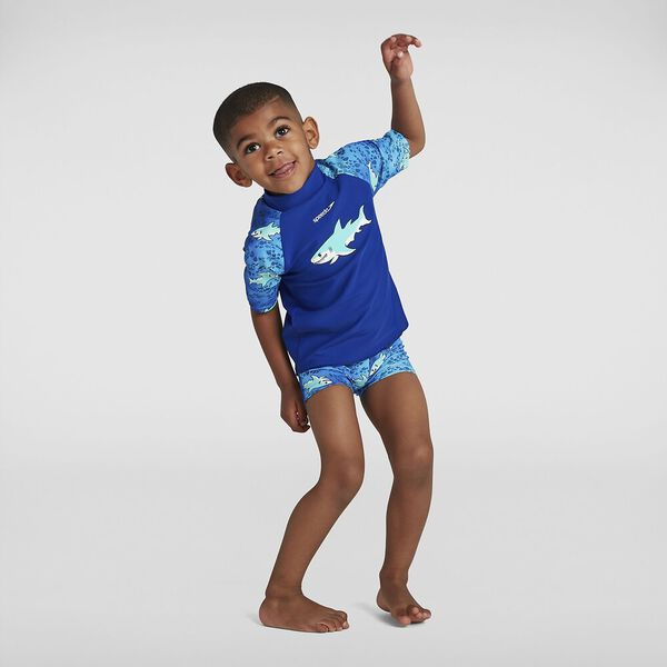 Toddler Boys Sun Protection Top And Short
