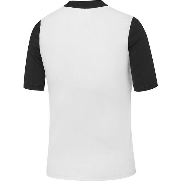 Boys Icon Logo Short Sleeve Rashie, White/Rainbow Shark, hi-res