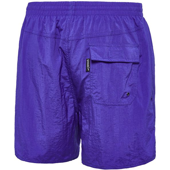 MENS SOLID LEISURE SHORT, Ultramarine, hi-res