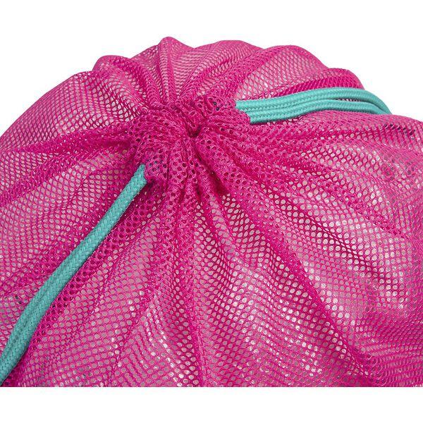 EQUIPMENT MESH BAG, PINK/GREEN, hi-res