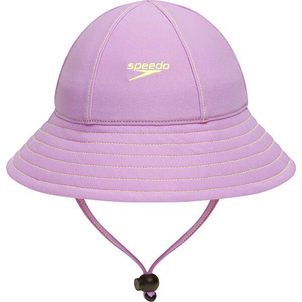 Toddler Girls Shade Hat, Lavender, hi-res