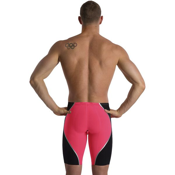 MENS LZR INTENT HG/WST JAMMER, RED/BLK/SLV, hi-res