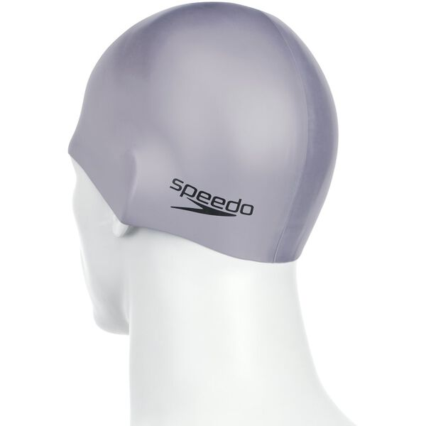 PLAIN MOULDED SILICONE CAP, CHROME, hi-res