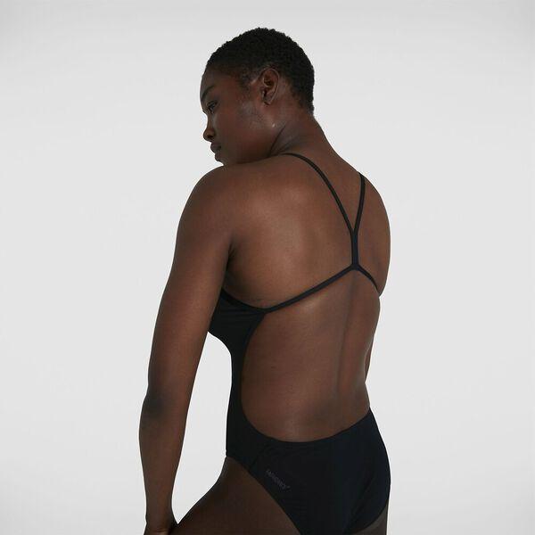 Womens Endurance+ Thinstrap 1Pc, Black, hi-res