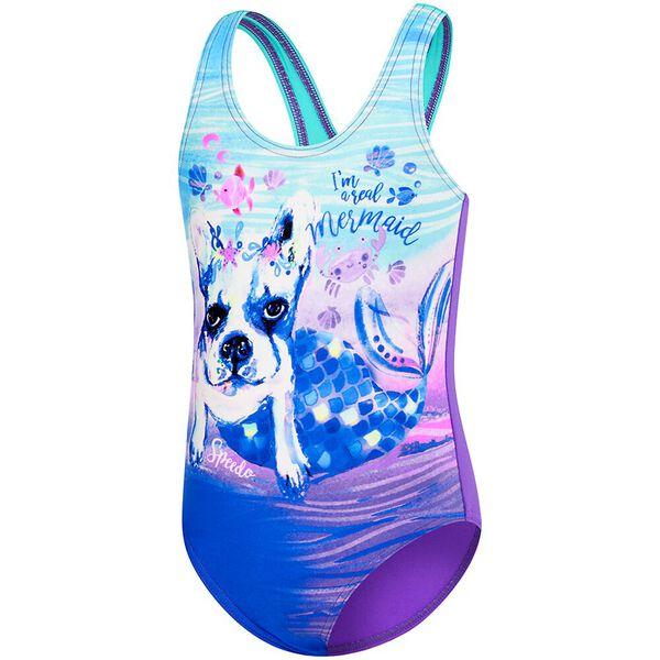 TODDLER GIRLS GALAXY CAT ONE PIECE, Real Mermaid, hi-res