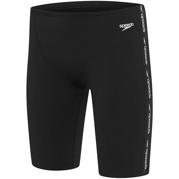 MENS SUPERIORITY JAMMER, Black/White, hi-res