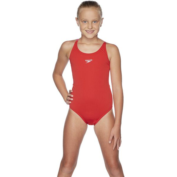 GIRLS TIE ONE PIECE, USA Red/Happyness, hi-res