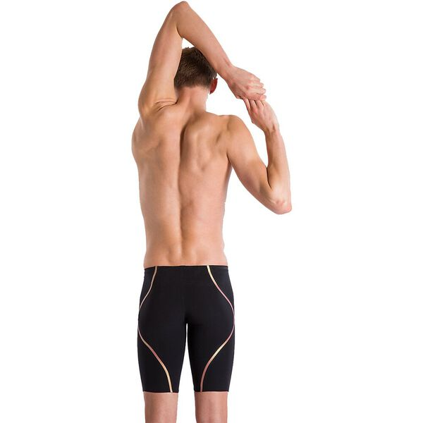 MENS LZR INTENT JAMMER, BLACK/GOLD, hi-res