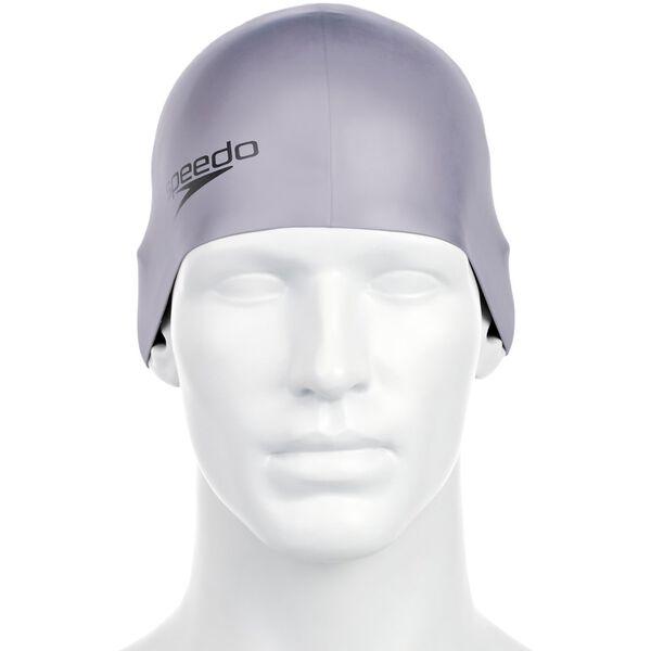 JNR MOULDED SILCONE CAP, CHROME, hi-res